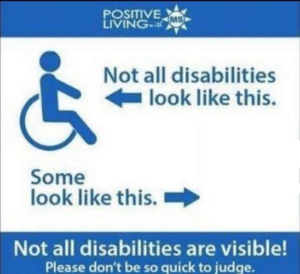 Note all disabilities look like this, some look like this (blank) Opinion meme template