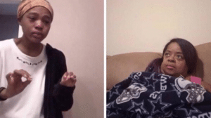 Older person trying to explain to younger person Younger meme template
