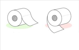 Different Toilet Rolls Food meme template