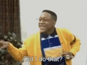 Steve Urkel 'Did I do that' Stranger Things meme template