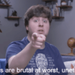 Your methods are brutal at worst, unethical at best  meme template blank JonTron, YouTube