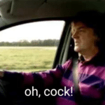 Oh cock  meme template blank Top Gear
