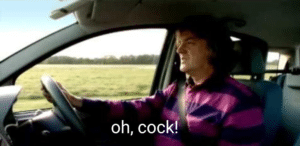 Oh cock Top Gear meme template