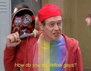 How do you do fellow gays Stranger Things meme template