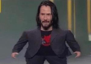 Keanu big head Keanu meme template