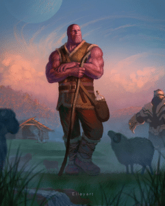 Thanos Farming Avengers meme template