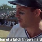 Son of a bitch throws hard  meme template blank Baseball, sports