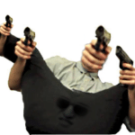 Filthy Frank pointing lots of guns  meme template blank YouTube