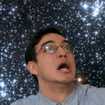 Filthy Frank in Space  meme template blank YouTube, surprised, stars