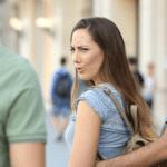 Distracted girlfriend  meme template blank boyfriend