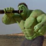 Hulk eating rocket  meme template blank Marvel Avengers