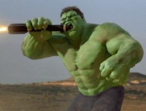 Hulk eating rocket Eating meme template