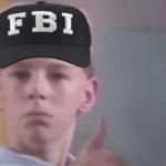 FBI kid thumbs up  meme template blank