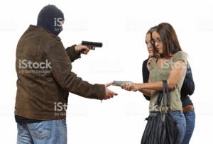 Giving robber money stock photo Stock Photo meme template