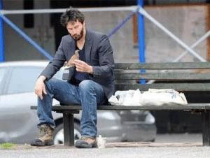 Keanu Reeves Eating Sandwich Keanu meme template