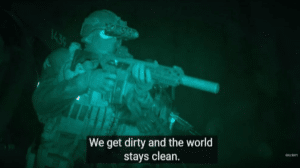 We get dirty and the world stays clean Getting meme template