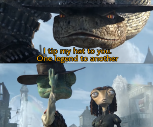 I tip my hat to you. One legend to another Opinion meme template