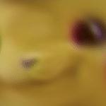 Confused Blur Pikachu  meme template blank radial blur, motion blur