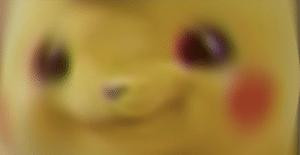 Confused Blur Pikachu Radial Blur meme template