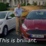 This is Brilliant  meme template blank Top Gear