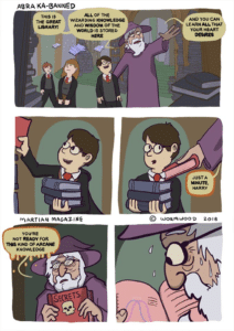 Youre not ready for this kind of knowledge Harry Potter meme template