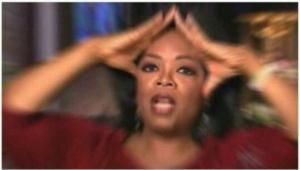 Oprah Confused Radial Blur meme template