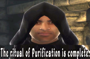 The ritual of purification is complete Gaming meme template