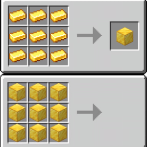 Minecraft combining gold (blank template) Minecraft meme template