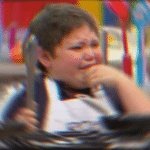 Fat kid crying  meme template blank radial blur