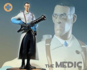 The Medic Gaming meme template