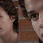 Zooming in on Steve's face Stranger Things meme template blank internal screaming