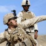 Soldier throwing ender peal Minecraft meme template blank Gaming, military