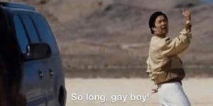 So long gay boy Gay meme template