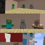 Minecraft throw out window Minecraft meme template blank vertical, gaming
