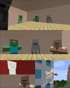 Minecraft throw out window  Minecraft meme template