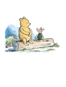 What day is it piglet (blank) Opinion meme template