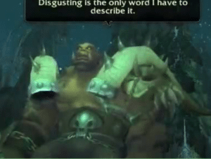 Disgusting is the only word I have to describe it Disgust meme template