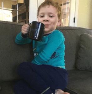 Gavin drinking coffee Gavin meme template