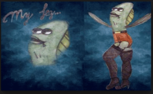 Sexy my leg NSFW meme template
