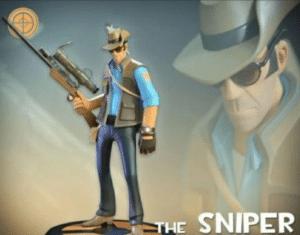 The Sniper Gun meme template