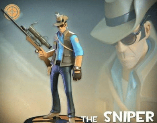 11d1406228744 The Sniper TF2 meme template blank gaming