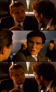 Leo Decaprio Squinting (3 panel) Skeptical meme template