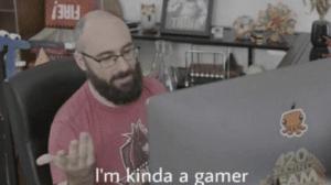 Vsauce 'Im kinda a gamer' Vsauce meme template