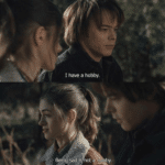 Being sad is not a hobby Stranger Things meme template blank Jonathan Byers, Nancy