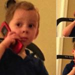 Gavin on phone, thinking  meme template blank