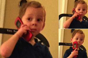 Gavin on phone, thinking Gavin meme template
