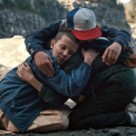 Stranger Things everyone hugging Stranger Things meme template blank
