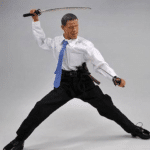 Obama with swords politics meme template blank