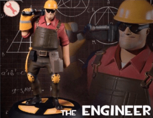 The Engineer Smart meme template