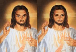 Jesus Looking Away Christian meme template